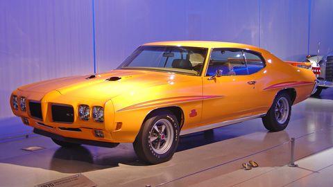 1970 Pontiac GTO Judge.