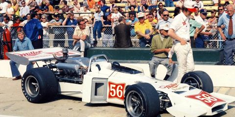 In 1972, Jim Hurtubise pretended he was going to qualify for the Indy 500. In reality, he was storing chilled beer in his car for crew members and officials.