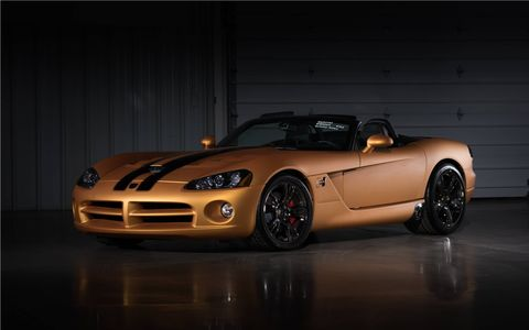 This 2008 Dodge Viper SRT/10 Hurst 50th Anniversary might have cashed in on the recent demise of the nameplate -- hammering away for a cool $220,000.