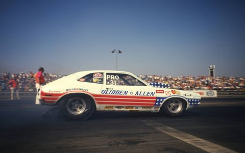 In a career that spanned more than 25 years in Pro Stock, Glidden won 85 events, 10 season championships, and was voted No. 4 on the list of Top 50 racers from NHRA's first 50 years in 2000.