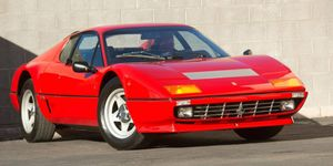 This 1982 Ferrari 512 BBi surprised with a $357,500 sale price.