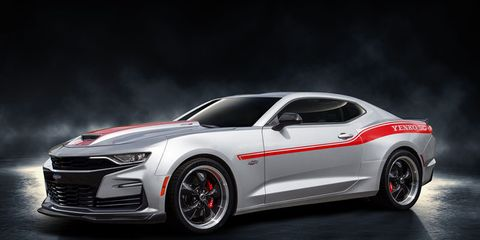 The 2019 Chevrolet Camaro adds to the Yenko heritage with the Specialty Performance Engineering-produced 1,000-hp Yenko/SC Stage II.