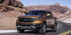 The 2019 Ford Ranger will get 26 mpg on the highway with two-wheel drive.