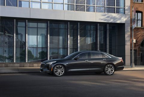 The 2019 Cadillac CT6 V-Sport will come with the company's new 4.2-liter twin-turbo V8.