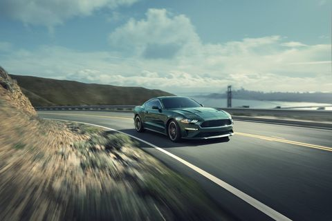 The 2019 Ford Mustang Bullitt gets a 20-hp bump for a total of 480 hp.