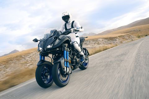 Are three wheels better than two? The Yamaha Niken answers the question no one may have asked.
