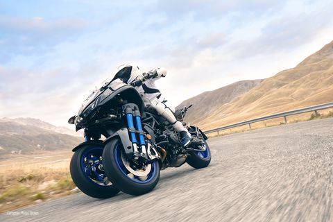 Yamaha says its Revolutionary Leaning Multi- Wheel Chassis 