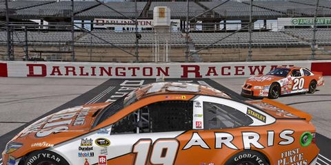 Carl Edwards (19) will be driving a Toyota Camry with a Tony Stewart-inspired livery.