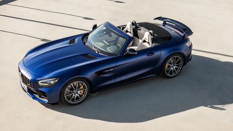 The limited-edition 2020 Mercedes-AMG GT R Roadster goes on sale in late 2019.