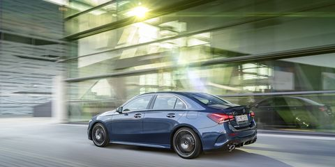The new gateway to AMG -- the Mercedes-AMG A35 sedan takes the A-Class up a notch.