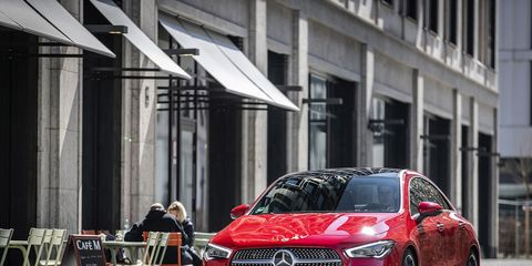 The 2020 Mercedes-Benz CLA 250 has cleaner, more adult lines than its predecessor.