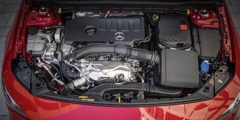A few details of the second generation 2020 Mercedes-Benz CLA 250