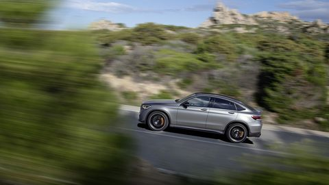 The Mercedes-AMG GLC 63 S Coupe will get the same enhancements as its traditionally styled crossover stablemate.