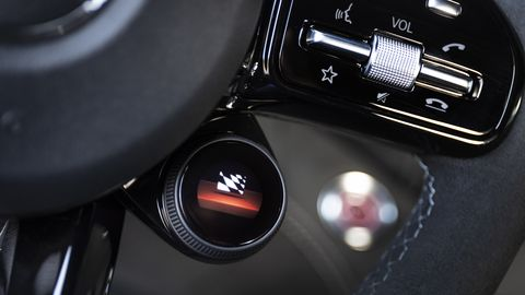 A look inside the 2020 Mercedes AMG GT R Pro, citizens of the U.S. kindly ignore the roll cage and four-point belts
