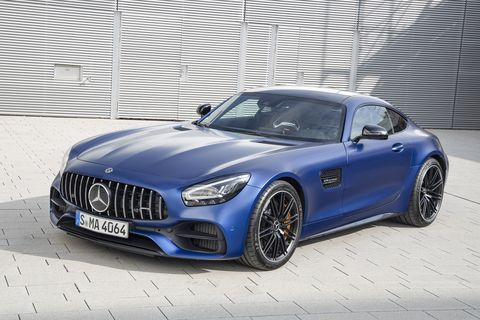 The 2020 Mercedes AMG GT C has not changed on the outside, its gorgeous just as before