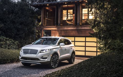The 2019 Lincoln MKC will be officially announced at the upcoming Los Angeles Auto Show