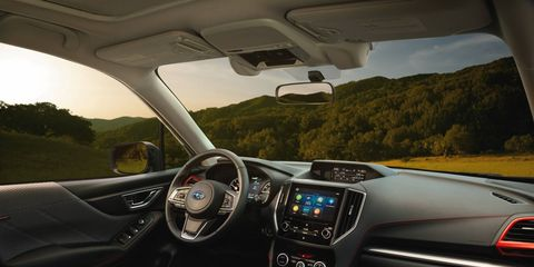 The 2019 Subaru Forester sports nicer materials and more space.