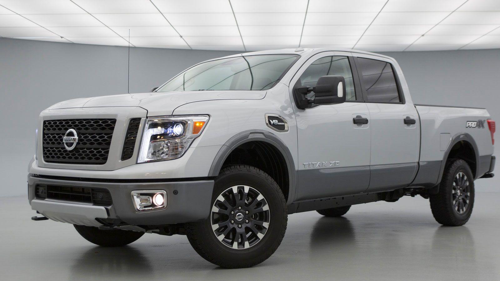 2020 Nissan Titan Diesel New Concept