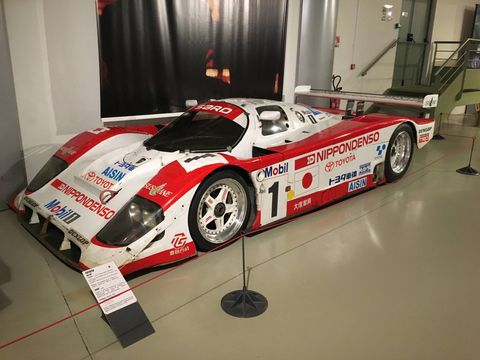 Some of the coolest endurance cars ever built are at the Le Mans Museum