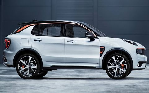 Chinese automaker Geely's new sub-brand, Lynk & Co, unveiled its first concept crossover.