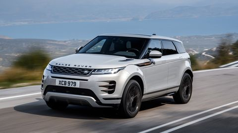 Land vehicle, Vehicle, Car, Range rover evoque, Range rover, Sport utility vehicle, Automotive design, Motor vehicle, Compact sport utility vehicle, Land rover,