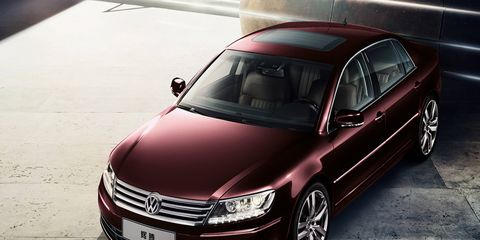 The 2015 Phaeton is still the old model, albeit after a few facelifts, but the new one is reportedly ready for production.
