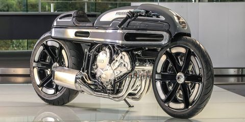 """Fred """"Krugger"""" Bertrand won the AMD World Championship for custom motorcycle building in 2010."""