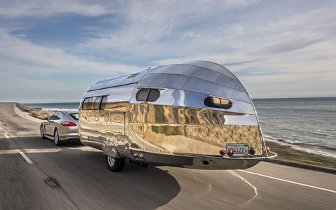 The Bowlus Road Chief is a lightweight, high-tech alternative to every other trailer ever made.