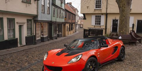 The supercharged Lotus Elise 250 Cup will be limited to just 200 units a year.