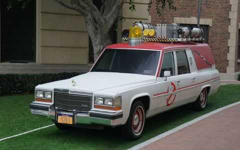 Who ya' gonna call? Ghostbusters returns this summer with an all-girl crew and an all-new Ecto-1 - a 1982 Cadillac hearse converted for kicking spectral booty.