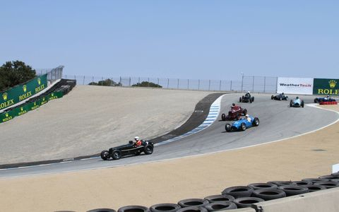 The many amazing cars running the Monterey Motorsports Reunion at Mazda Raceway Laguna Seca