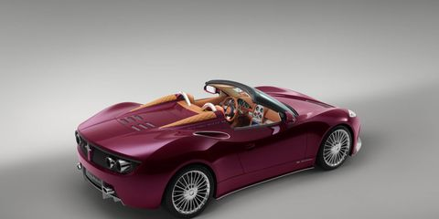 The Spyker B6 Venator Spyder, a car Spyker says it will totally build at some point.
