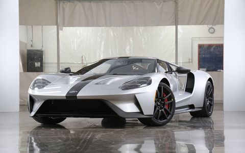 Ford rips even more weight out of its ultra-cool GT supercar.