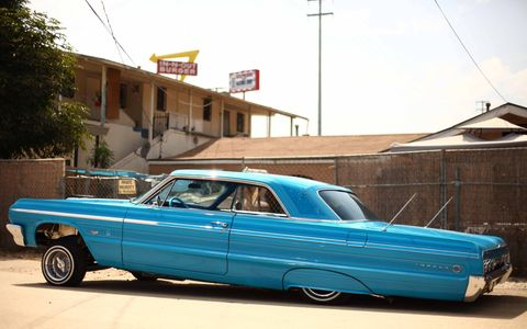 Los Angeles has a thriving low rider and custom scene.