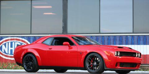 The 2019 Dodge Challenger SRT Hellcat Redeye has a 797-horsepower Supercharged HEMI®