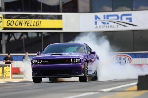 The Dodge Challenger R/T Scat Pack 1320 with the 6.4-liter HEMI V8 means fun on the drag strip all dang day!