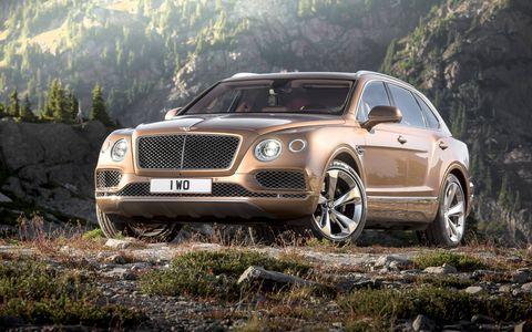 Bentley unleashes its Bentayga SUV