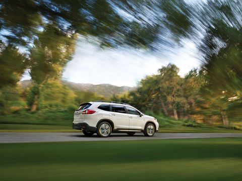 The new Subaru Ascent 3-row crossover SUV.