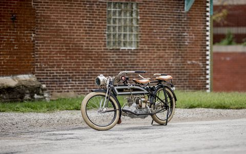 1913 Henderson Four that sold for $150,000.