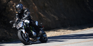 The new Kawasaki Z650 is a strong competitor in the mid-sized naked sport bike category with the likes of the Yamaha FZ-07 and Suzuki SV650. But it's also the successor to the mighty and ancient KZ650 of almost 40 years ago.