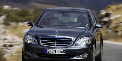 The 2007-and-earlier S-Class is a bear to keep up.