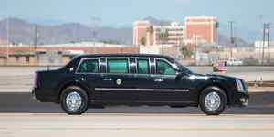 The current fleet of presidential limousines was introduced in 2009.