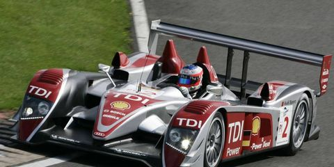 The Audi R10 TDI, best of the 2000s.