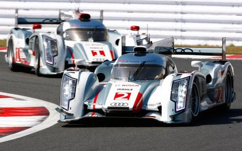 The Audi R18 e-tron quattro was selected as the best of the 2010s by a panel of racing experts.