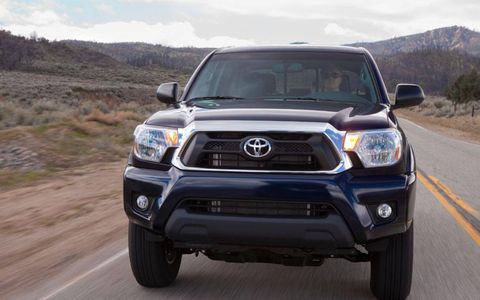 The 2012 Toyota Tacoma Access offers a 236 hp V6 engine.