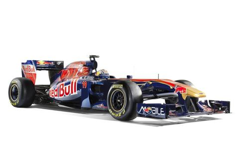 The Toro Rosso STR 6