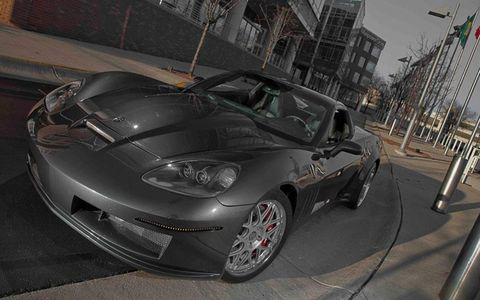 The Bennett Coachworks ZX-1 started its life as a C6 Corvette.