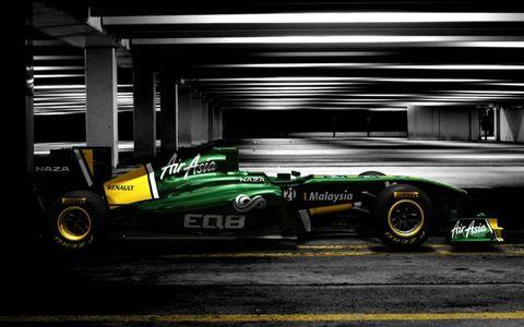 The Team Lotus T128