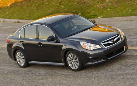 Driver's Log: 2010 Subaru Legacy 2.5i