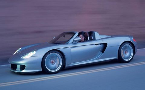 Porsche started a production run of Carrera GTs in 2004, shipping the units with an MSRP of $440,000